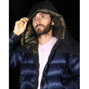 Dr. Michael Morbius Puffer Jacket with Hoodie