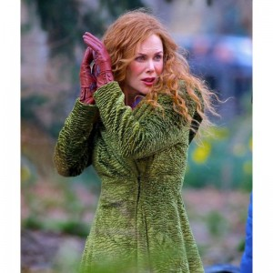 Nicole Kidman Green Coat The Undoing
