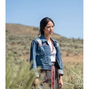 Kelsey Asbille Yellowstone Season 3 Denim Jacket