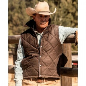 Ranch Vest Yellowstone John Dutton