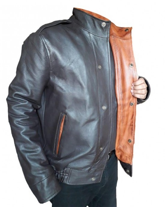 A-2 Lambskin Leather Bomber Jacket