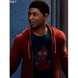 Miles Morales Into The Spider Verse Hoodie